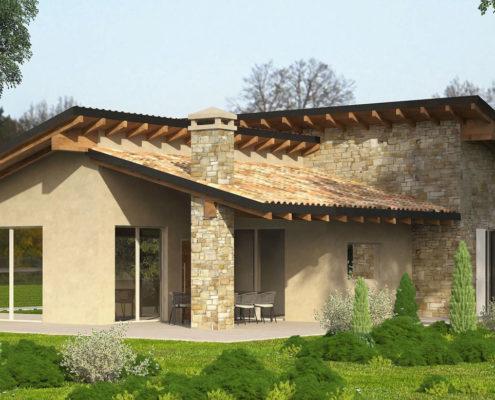 Case in legno progetti progetto with case in legno for Progetti case ecologiche